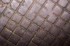 Vieille texture rouillée de surface métallique Photos stock