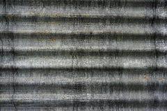Vieille texture rustique de mur de feuille de zinc fond rouillé grunge de mur Photos libres de droits