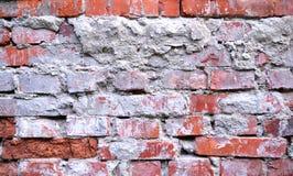 Vieille texture sale de mur de briques Photographie stock