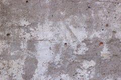 Vieille texture sale, mur en béton gris Photo libre de droits