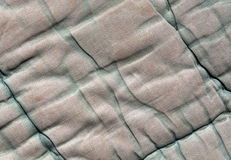 Vieille texture verte et grise de couverture de couleur Photos stock