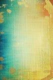 Vieille toile : fond texturisé abstrait Image stock