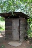 Vieille toilette Photo stock