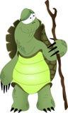 Vieille tortue Image libre de droits