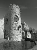 Vieille tour anglaise de château   image stock