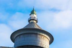 Vieille tour d'eau dans Velbert, Allemagne images stock
