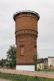 Vieille tour d'eau de brique Image stock