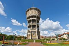 Vieille tour d'eau de Szeged Photo stock