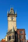 Vieille tour d'hôtel de ville Images libres de droits