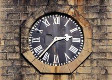 Vieille tour d'horloge Photographie stock