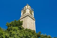 Vieille tour d'horloge dans Bitola, Macédoine Photo stock