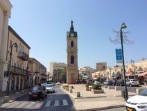 Vieille tour d'horloge de Yaffo (Jaffa, Yafo), Tel Aviv, Israël photos libres de droits