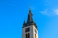 Vieille tour de St Stephen Church Photographie stock libre de droits