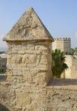 Vieille tour en pierre Images stock
