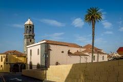 Vieille tour et bâtiments historiques, La Orotava, Ténérife Image libre de droits