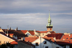 Vieille tour, Znojmo Photo libre de droits