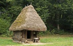 Vieille, traditionnelle maison photographie stock libre de droits