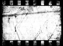 Vieille trame de film Image stock