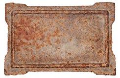 Vieille trame en métal. images stock