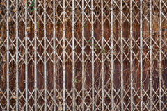 Vieille trappe en acier Photos libres de droits