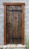 Vieille trappe en bois Image stock