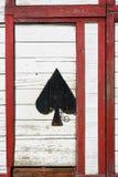 Vieille trappe en bois Photos libres de droits