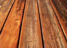 Vieille trappe en bois Image libre de droits