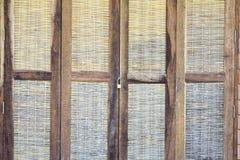 Vieille trappe en bois Photographie stock