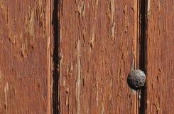 Vieille trappe en bois Photo libre de droits