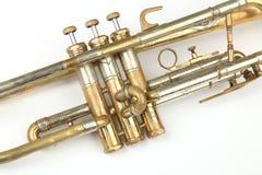 Vieille trompette Photographie stock