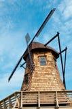 Vieille turbine de vent Image stock