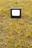 Vieille TV Photo stock