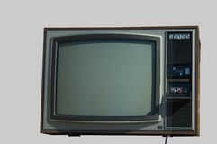Vieille TV Images stock