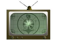 vieille TV Images libres de droits