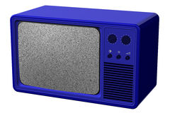 Vieille TV rendu 3d Images stock