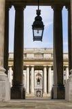 Vieille université navale royale, Greenwich Photos stock