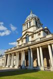 Vieille université navale royale, Greenwich, Londres, R-U Image stock