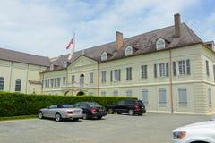 Vieille Ursuline Convent sur la rue de Chartres à la Nouvelle-Orléans photographie stock libre de droits