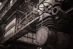 Vieille usine Image libre de droits