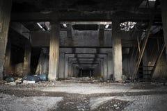 Vieille usine abandonnée Images stock