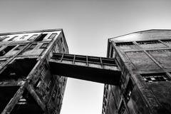 Vieille usine d'abandon Photographie stock libre de droits