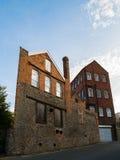 Vieille usine de brique dans Bristol Image stock