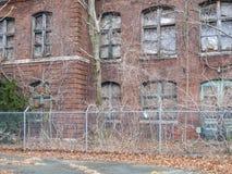 Vieille usine de pointe d'atlas maintenant abandonnée Photographie stock