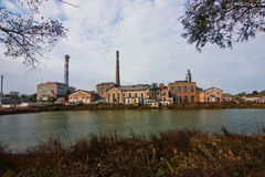 Vieille usine shugar photo libre de droits