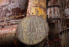 Vieille usine sidérurgique Photographie stock