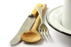 Vieille vaisselle Image stock