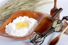 Vieille vaisselle de cuisine Image libre de droits
