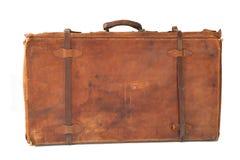 Vieille valise en cuir photos libres de droits