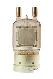 Vieille valve d'électron de vide de puissance élevée Photographie stock libre de droits