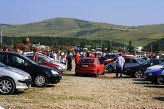 Vieille vente de véhicules photos libres de droits